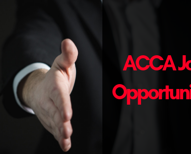 acca job opportunities in India