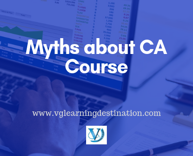 CA Course Myths