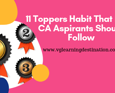 ca final toppers habits