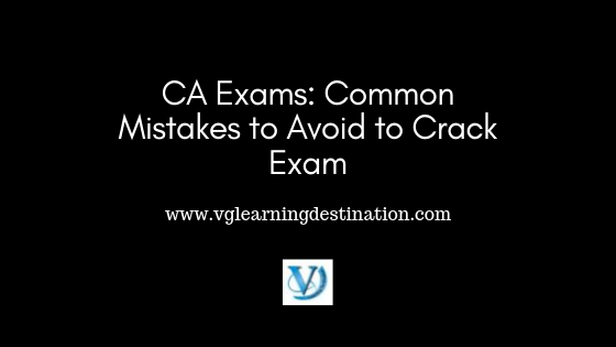 common mistakes of ca final exam