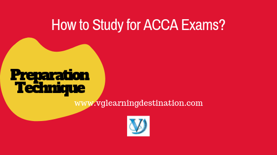 how to study for acca exams